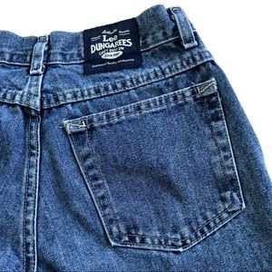 Lee vtg womans  26 flare jeans cargo pockets 90s